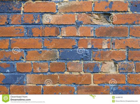 blue and orange brick background stock photo image 44468160