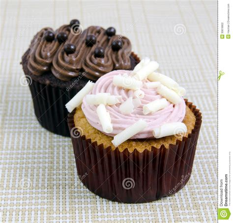 various fancy cupcakes stock photography image 30818802