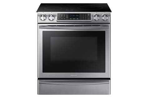 samsung nekwsaa  cu ft   induction range wvirtual flame stainless shop