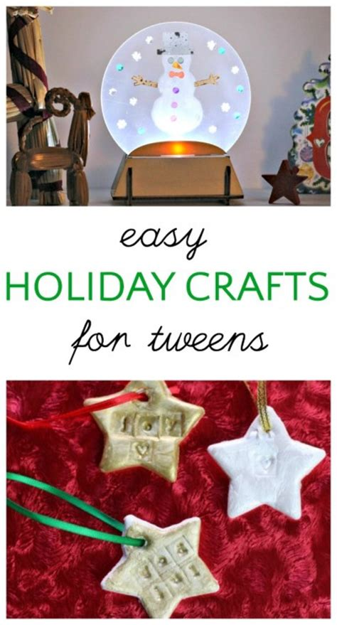 christmas food crafts for tweens