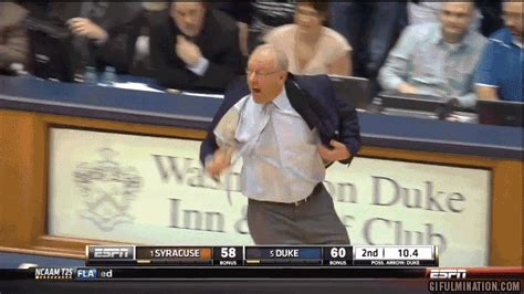 Jim Boeheim Memes - duke 66 syracuse 60 blue devils down orange in rematch troy nunes is an absolute magician