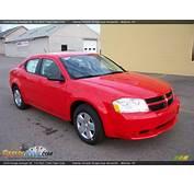 2009 Dodge Avenger SE Tor Red / Dark Slate Gray Photo 5
