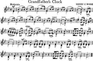 Grandfather S Clock about the music title s grandfathers clock composer henry clay work