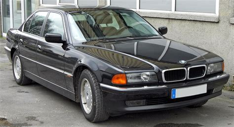 how make cars 1994 bmw 7 series electronic toll collection bmw 7 series e38 wikipedia