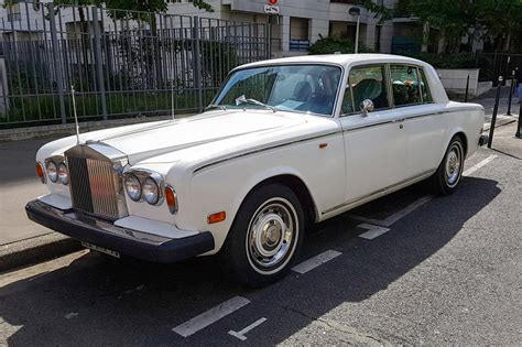 roll royce silver rolls royce silver shadow une voiture de collection