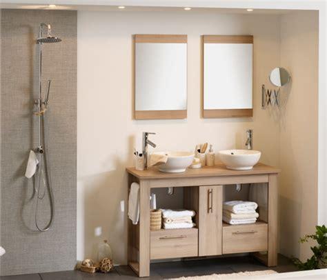 ensemble bloc en 120 salle de bain acacia