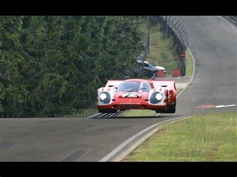 Porsche 917 Video by Assetto Online Porsche 917k Around The Nordschleife Youtube