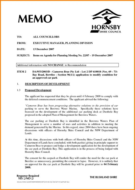 Memo Formatting Guidelines 7 Memo Heading Format Cinema Resume