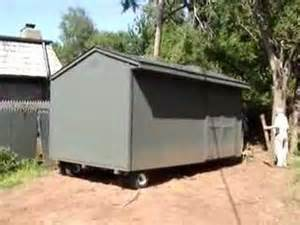 moving a shed how to move a storage shed