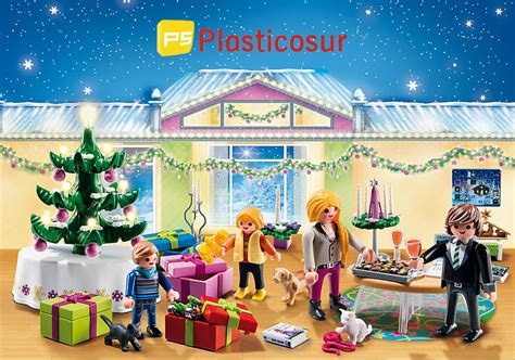 Calendrier 5496 Playmobil Navidad Plasticosur