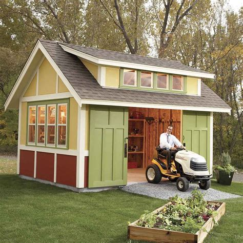 build a backyard shed 34 awesome outdoor diy projects to get you outside