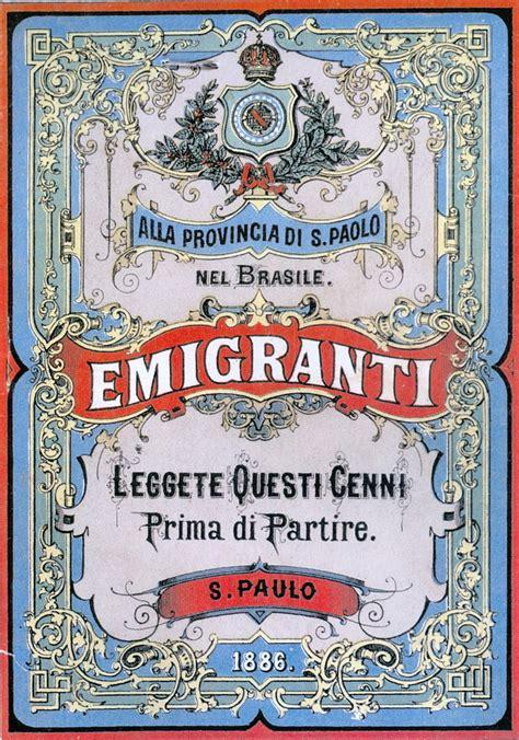 articolo di giornale sull alimentazione file manifesto emigrazione san paolo brasile jpg