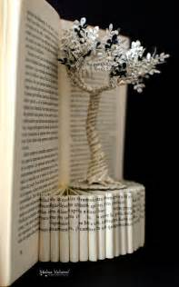 Book Paper Crafts - 25 best ideas about book on folded book