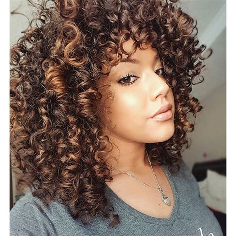 short curly hair highlight pictures pintura highlights google search curl pinterest