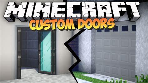 minecraft custom doors mod malisis doors mod showcase
