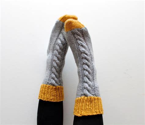 knitting pattern thick socks sock knitting pattern instant download slipper socks thick