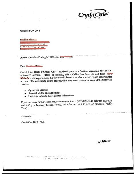 Dispute Letter For Credit Repair Exle Letters For Debt Settlement Validation Credit