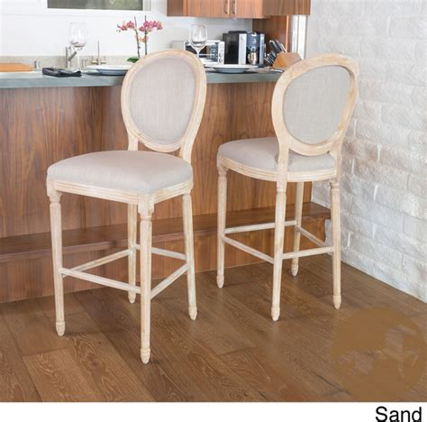 christopher knight bar stool christopher knight home queen anne fabric bar stool
