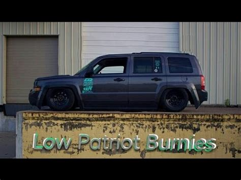 lowered jeep liberty lowered patriot burnie
