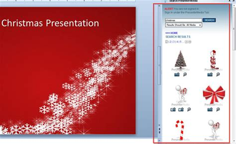 how to make an original christmas powerpoint template for