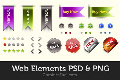design elements in photoshop web elements pack psd png graphicsfuel