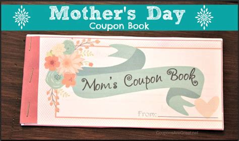 Handmade Coupons - gift for s day coupon book