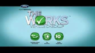 The Works Ford Ford Tv Commercial Vehicle Check Up Ispot Tv