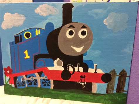 The Tank Engine Painting By Chillmon On Deviantart