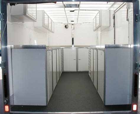 lightweight cabinets for rv aluminum cabinets for v nose trailers bar cabinet
