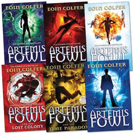 the series books artemis fowl pack scholastic club