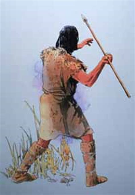 how to hunt with a spear spear biography