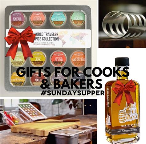 gifts for cooks gifts for cooks and bakers sundaysupper sunday supper