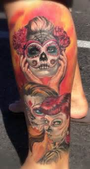 100 s of dia de los muertos tattoo design ideas pictures