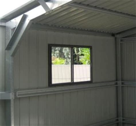 Shed Window Installation by Ranbuild Or Fair Dinkum Shed Windows Diy Buy And Install Steel Sheds In Australia