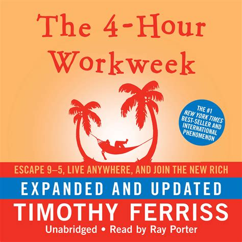 the 4 hour workweek escape 0307465357 the 4 hour workweek expanded and updated audiobook