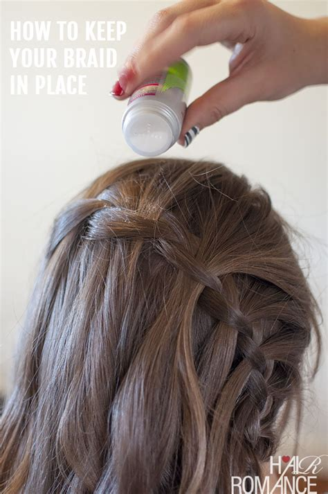 how to do plait hairstyles vertical waterfall braid hairstyle tutorial hair romance