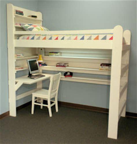 loft bed with desk blueprints loft bed plans with desk bed plans diy blueprints