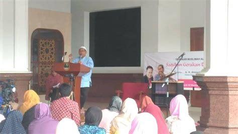 Kerukunan Beragama Dr Adian Husaini kajian rutin gema annas hadirkan dr adian husaini voa