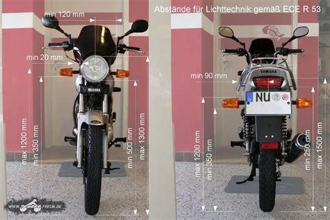 Motorrad Blinker Vorschrift by T 220 V Blinker Abst 228 Nde Vorne Und Hinten Lkr Ez 2005