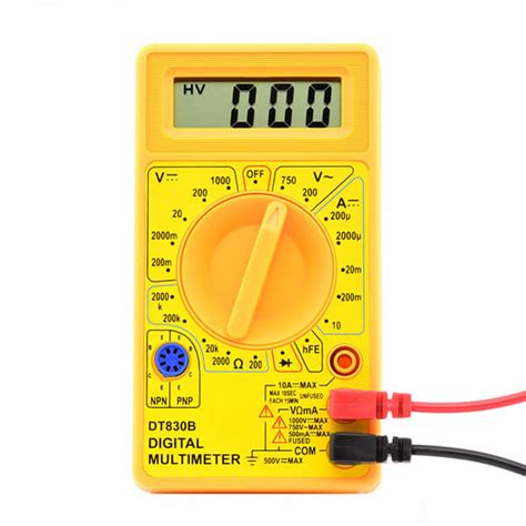 how to use a multimeter on house wiring digital multimeter tester