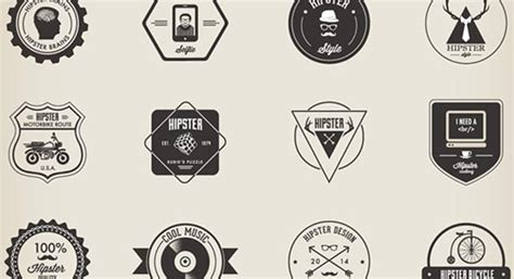 hipster tattoo generator 20 free hipster badges fonts with vintage designs