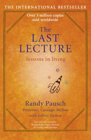 The Last Lecture Book Report randy pausch last lecture quotes quotesgram