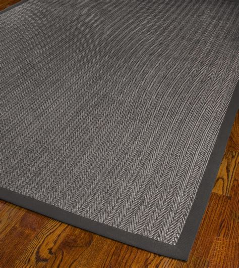Brown And Grey Area Rugs Fiber Sisal Grey Brown Grey Area Rug 8 X 8 Square Ebay