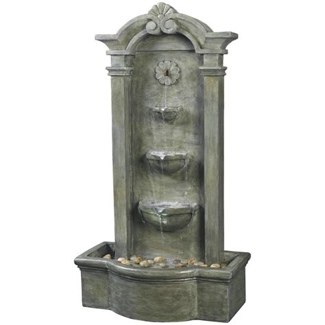 kenroy sienna indoor outdoor floor fountain outdoor