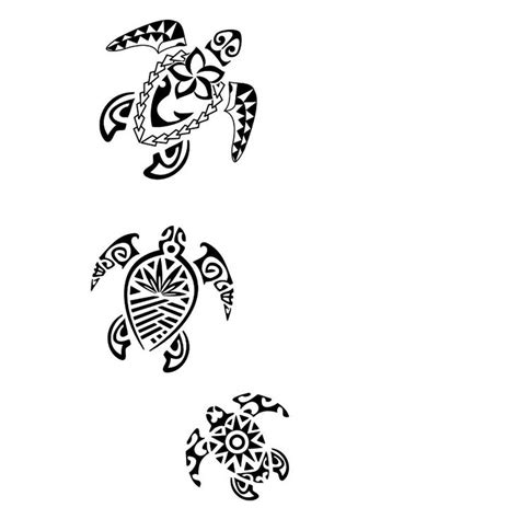 urban tribal tattoos 13 best turtle outline images on