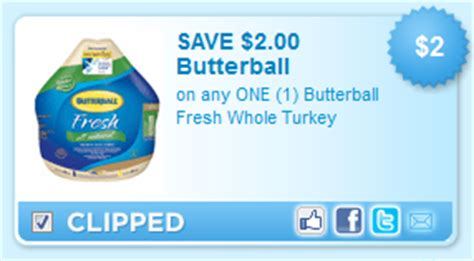 printable butterball turkey coupons quick 2 1 butterball fresh whole turkey