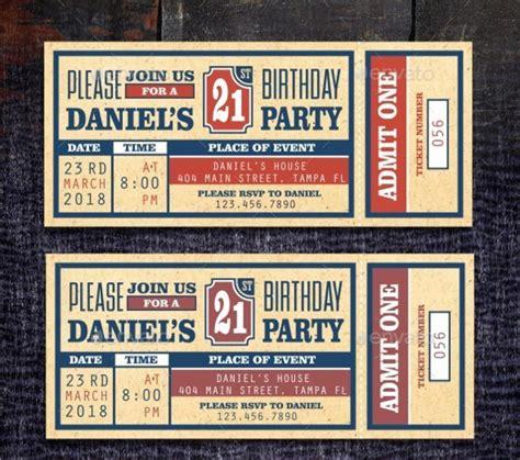 baseball ticket invitation template free orderecigsjuice