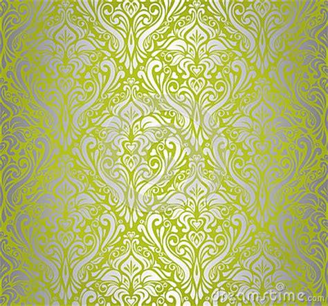 green silver vintage wallpaper royalty  stock