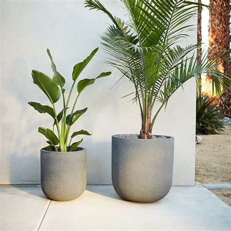 radius planters west elm