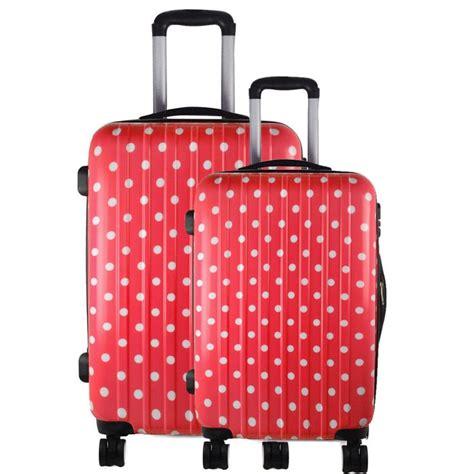 88 Prada Set Kodok 2in1 2 set travel luggage wheel trolleys suitcase bag shell black pink bag cabin